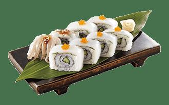 アオリイカの棒寿司