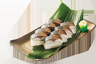 炙りサバの棒寿司