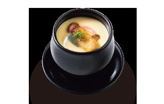 松茸のあんかけ茶碗蒸し